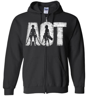 AOT-Anime Zipper Hoodies-Ddjvigo|Threadiverse