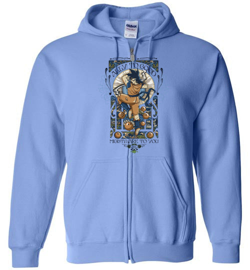 Ally To Good-Anime Zipper Hoodies-CoD (Create Or Destroy) Designs|Threadiverse