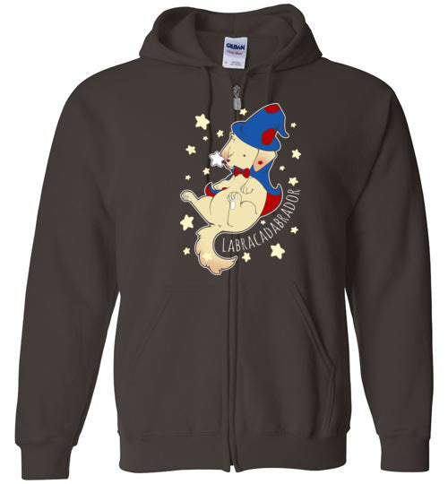 Labradacabrador-Indie Zipper Hoodies-Chocolate Raisins Art|Threadiverse