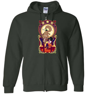 Art Of Heaven-Animation Zipper Hoodies-Chocolate Raisins Art|Threadiverse
