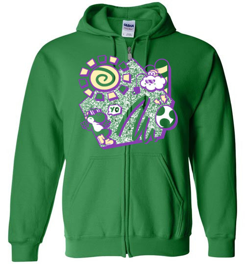 Summer Yo-Gaming Zipper Hoodies-Minilla|Threadiverse