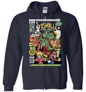 Yoshilla-Gaming Zipper Hoodies-Fernando Solar Tees|Threadiverse
