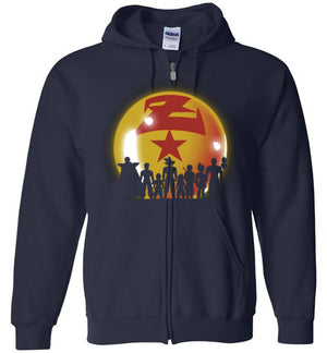 Z Warriors-Anime Zipper Hoodies-Ddjvigo|Threadiverse