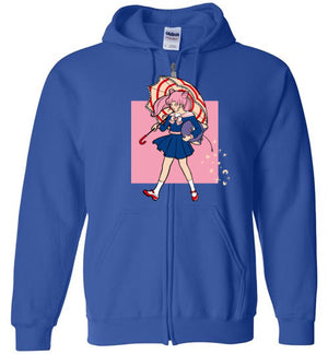 Salty-Anime Zipper Hoodies-Eriphy|Threadiverse