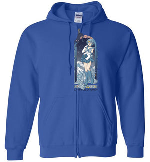 Voice Of Reason-Anime Zipper Hoodies-Eriphy|Threadiverse