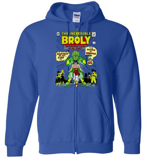 The Incredible Broly-Anime Hoodies-Ddjvigo|Threadiverse