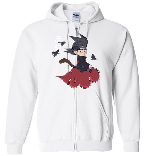 Red Cloud-Anime Zipper Hoodies-Angzdu|Threadiverse