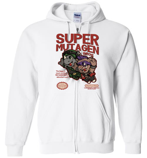 Super Mutagen Bros-Pop Culture Zipper Hoodies-Angzdu|Threadiverse