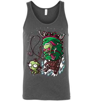 Zim Stole Christmas-Animation Tank Tops-CoD (Create Or Destroy) Designs|Threadiverse