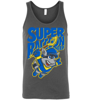 Super Raccoon Thief-Gaming Tank Tops-Punksthetic Designs|Threadiverse
