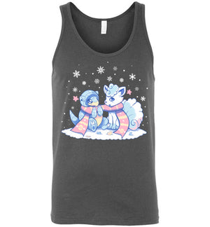 Winter Forms-Gaming Tank Tops-Art Of Sarah Richford|Threadiverse