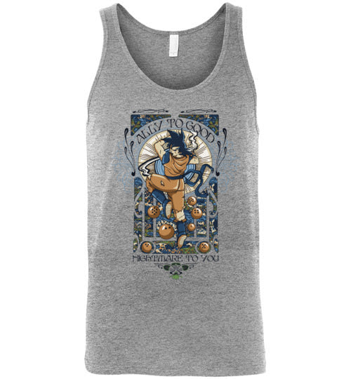 Ally To Good-Anime Tank Tops-CoD (Create Or Destroy) Designs|Threadiverse