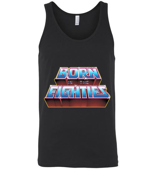 Born In The 80s-Pop Culture Tank Tops-Skullpy|Threadiverse