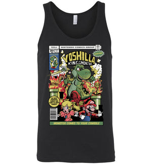 Yoshilla-Gaming Tank Tops-Fernando Solar Tees|Threadiverse