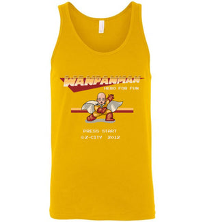 Wanpanman-Anime Tank Tops-Typhoonic Artwork|Threadiverse