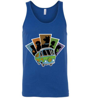 Mystery Pals-Animation Tank Tops-Skullpy|Threadiverse