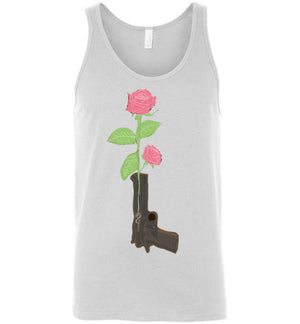 Weapon Of Peace-Pop Culture Tank Tops-Darkchoocoolat|Threadiverse