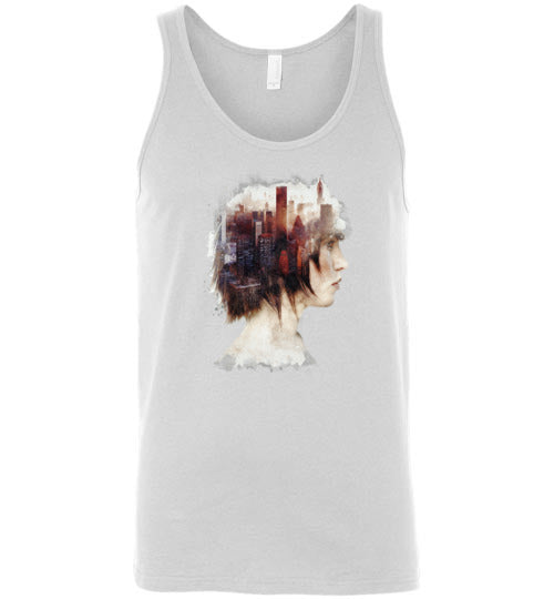 Lady In The City-Indie Tank Tops-Barrett Biggers|Threadiverse