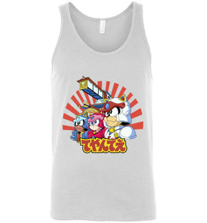 Samurai Pizza Cats-Animation Tank Tops-Skullpy|Threadiverse