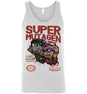 Super Mutagen Bros-Pop Culture Women's Tank Tops-Angzdu|Threadiverse
