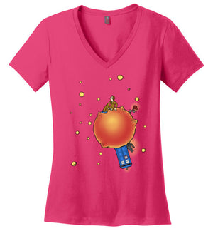Little Who-Pop Culture Women's Perfect Weight V-Necks-Eriphy|Threadiverse