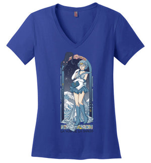 Voice Of Reason-Anime Women's Perfect Weight V-Necks-Eriphy|Threadiverse