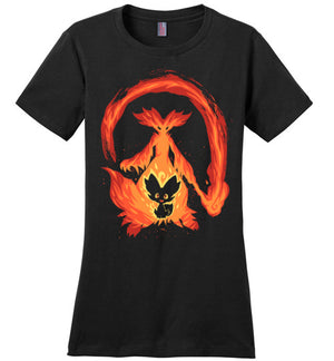 I Wanna Be a Fire Mage-Gaming Shirts-Art Of Sarah Richford|Threadiverse