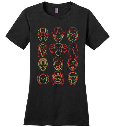 Horror Heads-Pop Culture Shirts-CoD (Create Or Destroy) Designs|Threadiverse