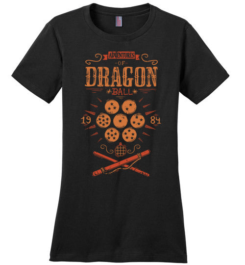Adventures of Dragonball-Anime Shirts-Typhoonic Artwork|Threadiverse