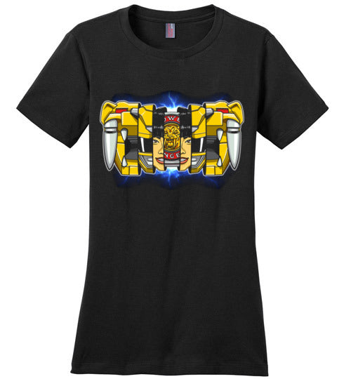 Yellow Ranger-Pop Culture Shirts-CoD (Create Or Destroy) Designs|Threadiverse