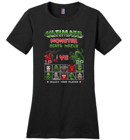 Ultimate Monster Death Match-Pop Culture Shirts-Stationjack|Threadiverse