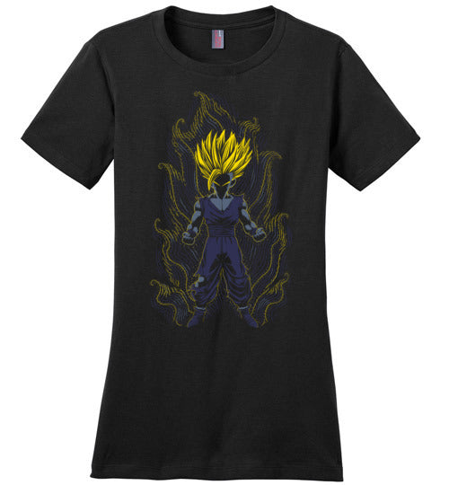 Impressionist Little Saiyan-Anime Shirts-Ddjvigo|Threadiverse