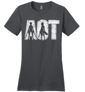 AOT-Anime Women's Perfect Weight Shirts-Ddjvigo|Threadiverse