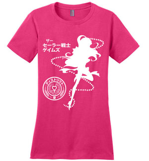 The Senshi Games Venus-Anime Women's Perfect Weight Shirts-Machmigo|Threadiverse