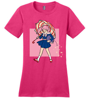 Salty-Anime Women's Perfect Weight Shirts-Eriphy|Threadiverse