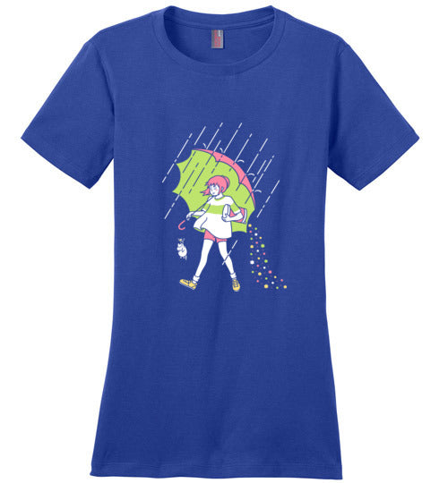 Spirit Salt-Anime Women's Perfect Weight Shirts-Minilla|Threadiverse