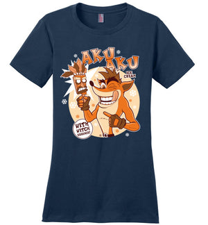 Aku Aku Ice Cream-gaming women's perfect weight shirts-Fernando Solar Tees|Threadiverse