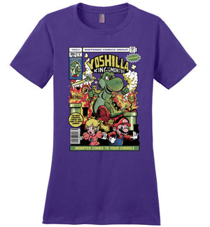 Yoshilla-gaming women's perfect weight shirts-Fernando Solar Tees|Threadiverse