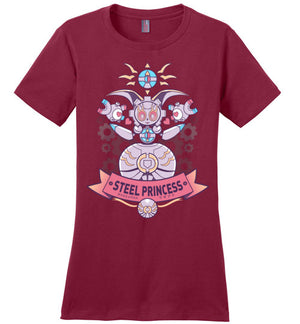 Steel Princess-Gaming Women's Perfect Weight Shirts-Art Of Sarah Richford|Threadiverse
