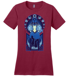 Art Of The Fighter-Gaming Women's Perfect Weight Shirts-Chocolate Raisins Art|Threadiverse