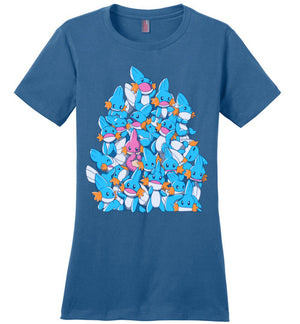 A Pile of Water Starters-gaming women's perfect weight shirts-Art Of Sarah Richford|Threadiverse