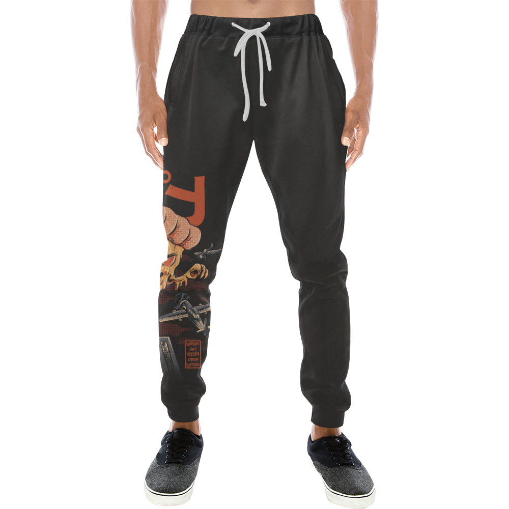 Pizza Kong Sweats Men's All Over Print Sweatpants (Model L11)