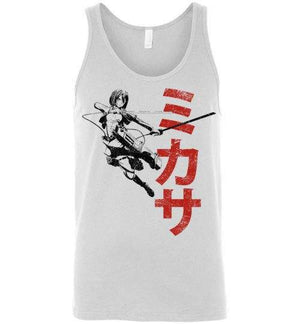 """Protect""-Anime Tank Tops-Ddjvigo
