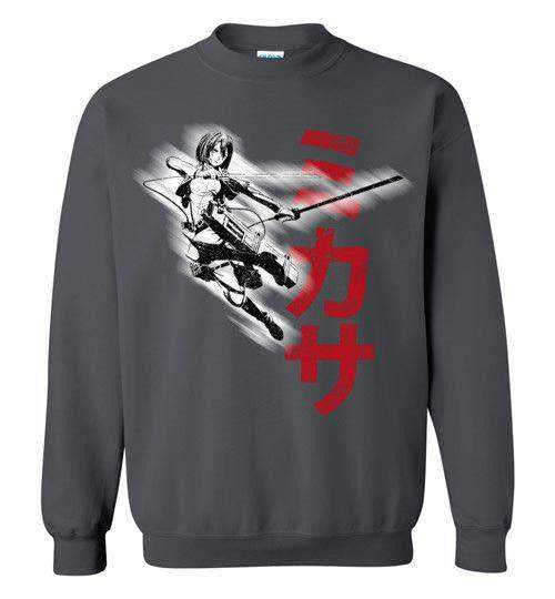 """Protect"" In Black-Anime Sweatshirts-Ddjvigo
