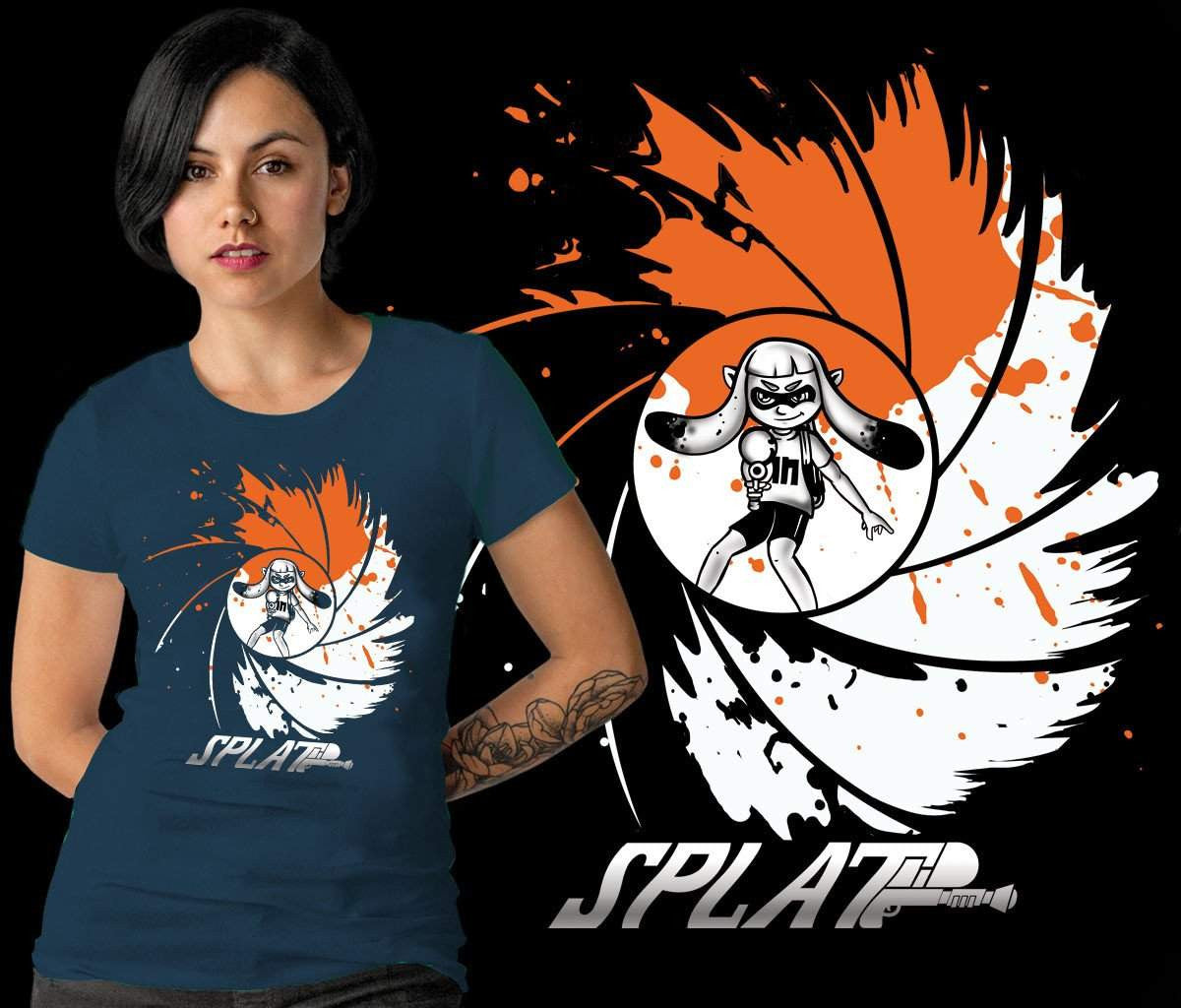 00 Splat-Gaming Shirts-Creative Outpouring|Threadiverse