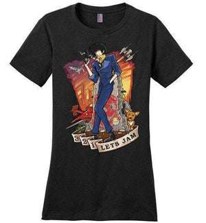 3,2,1 Let's Jam-Anime Women's Perfect Weight Shirts-TrulyEpic|Threadiverse