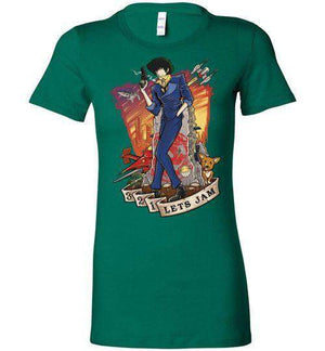3,2,1 Let's Jam-Anime Women's Shirts-TrulyEpic|Threadiverse