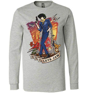 3,2,1 Let's Jam-Anime Long Sleeves-TrulyEpic|Threadiverse