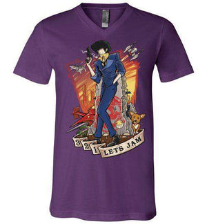 3,2,1 Let's Jam-Anime V-Necks-TrulyEpic|Threadiverse