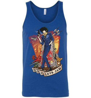 3,2,1 Let's Jam-Anime Tank Tops-TrulyEpic|Threadiverse